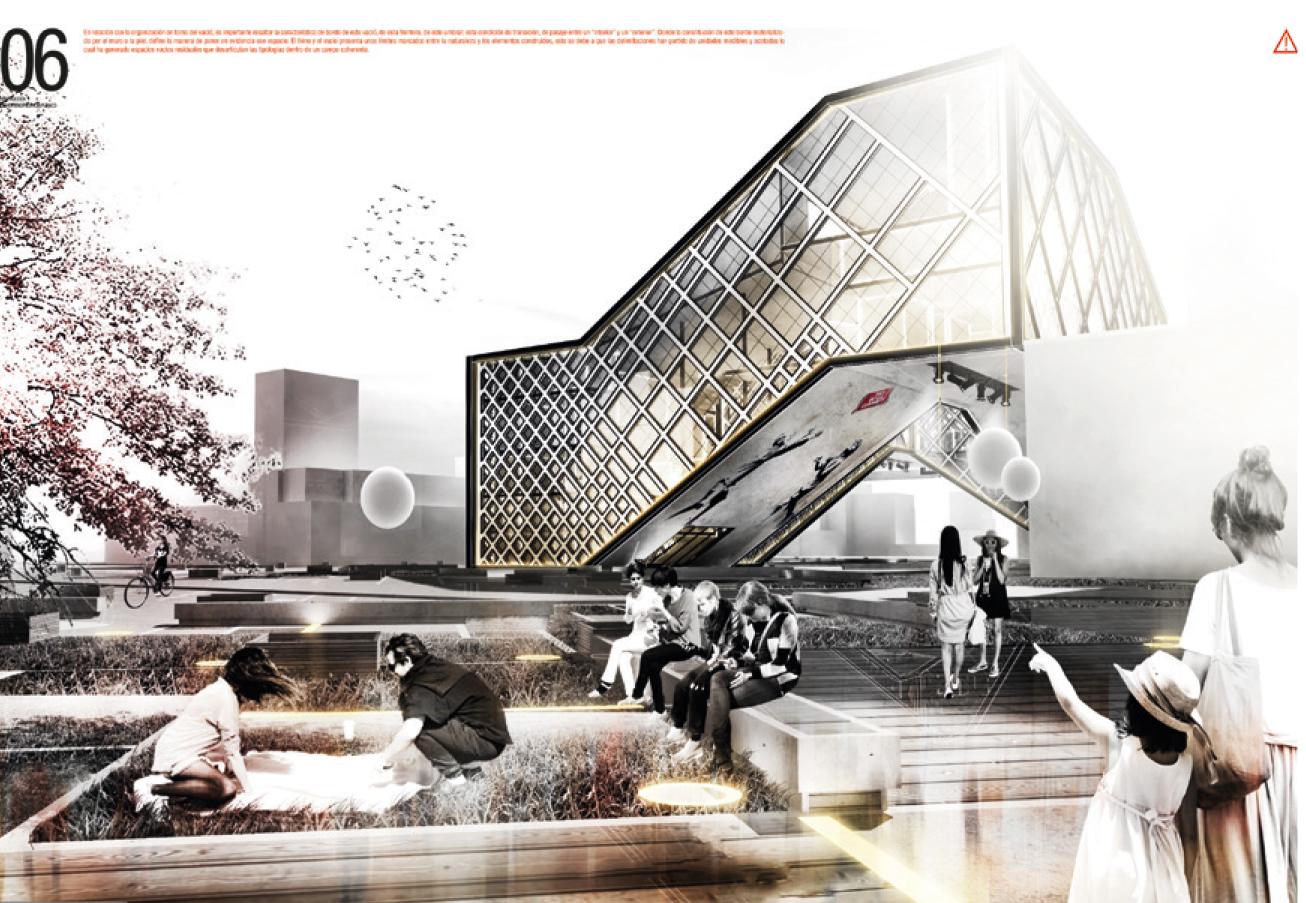 Equipar con la mezcla proyectos de grado de arquitectura for Grado en arquitectura